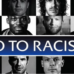Leading players say No To Racism in UEFA viral