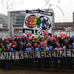 German anti-homophobia fan organisation strengthens network in Europe