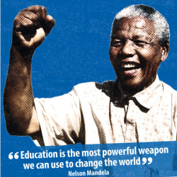 Blog: Nelson Mandela, you are everyone's hero. Goodbye and thank you