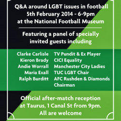 Anti-homophobia campaign to host debate on discrimination in sports