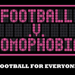 Football v Homophobia Month of Action kick-off