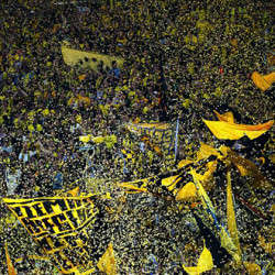 Dortmund fan banned until 2020 for performing a Nazi salute