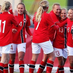 Norwegian football's women leaders