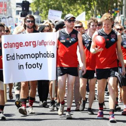 Australian sporting codes unite against homophobia