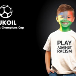 Roberto Carlos, Ivanovic, Berbatov and Laizans join children's tournament against racism