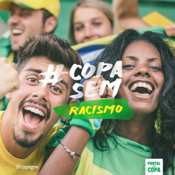 Brazilian government and FIFA launch anti-racism campaigns for World Cup