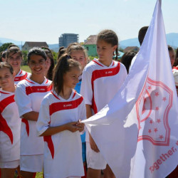 Youth tournament promotes female participation in Albanian football
