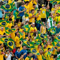 Majority of World Cup fans are male, white and wealthy says Brazilian poll