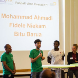 Berlin hosts first national congress on refugees and sport