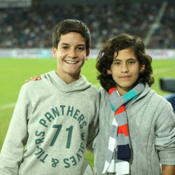Jewish and Arab children lead anti-discrimination ceremony at Euro Qualifier