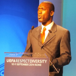 Seedorf to join campaigners and NGO leaders from 38 countries for Fare2015