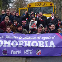 Fans of English club Dulwich Hamlet lead the way in tackling homophobia
