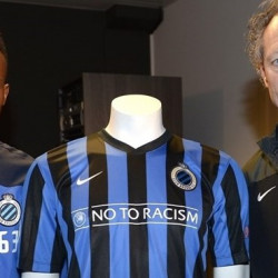 Belgian club the first to wear the UEFA 'No to Racism' slogan in an European game