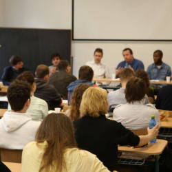 Workshop for journalism students addresses racism and far-right extremism in Slovak sport