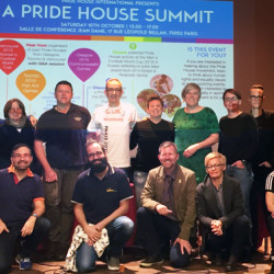 International Pride House summit kicks-off Football People LGBT rights events