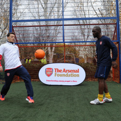 Premier League giant Arsenal FC offer ongoing support for refugees