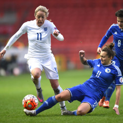 Media reporting seminar to use England match to grow women in football in Bosnia
