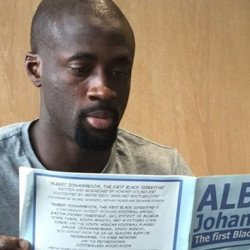 New comic book features Albert 'Hurry Hurry' Johanneson,  the first Black player to appear in an FA Cup Final
