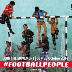 100,000 take part in Football People weeks