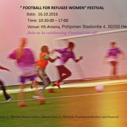 Fare board member Ayisat Yusuf Armoire backs festival for refugee women in Finland