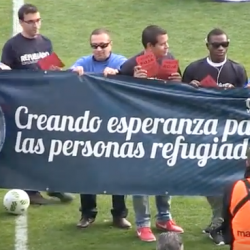 Football People movement carries inclusion message to International Migrants Day