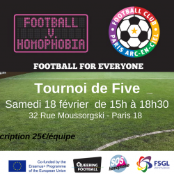 FC Paris Arc-En-Ciel celebrate diversity with FvH event