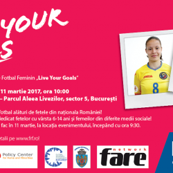 FIFA 'Live Your Goals' inspires Roma girls in Bucharest
