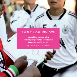 DISCOVER FOOTBALL publish innovative manual on female coaching