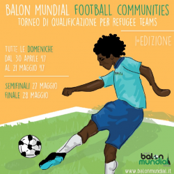 Football tournament to unite refugees and locals in Italy
