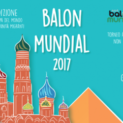 Balon Mundial world cup celebrates the contributions of migrants in Italy