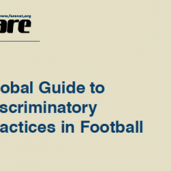 Guide to discriminatory practices in world football launched