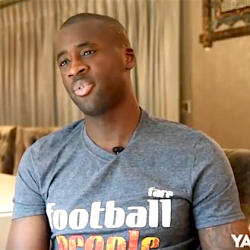 Manchester City star Yaya Touré announces support for Football People movement