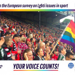 Outsport leads Europe's first research on LGBTI people and sport
