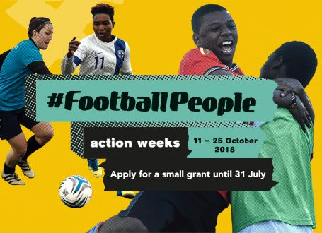 Small grants 31 July deadline to drive diversity and inclusion during #FootballPeople weeks approaches