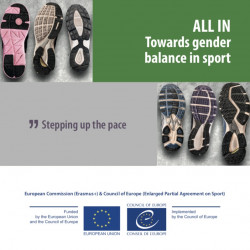 'ALL IN: Towards gender balance in sport' project calls for best practices on gender equality