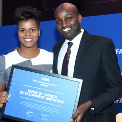 Horn of Africa Development Initiative (HODI) wins FIFA Diversity Award