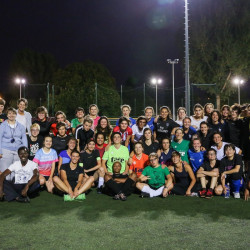 Integration of refugee women through sport continues as INSPIRE Project makes progress