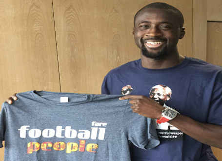 Competition: WIN a signed poster from African football great Yaya Toure