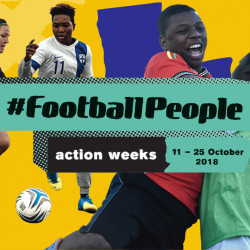 Football People weeks take centre stage during UEFA elite competitions