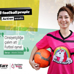 Turkish organisations come together in unprecedented numbers for #FootballPeople weeks
