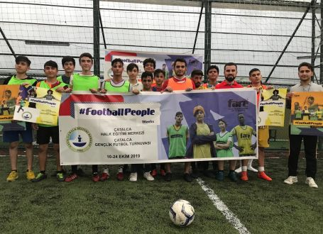 #FootballPeople list of activities – view our worldwide map of events