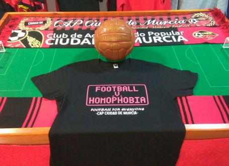 Grants for Football v Homophobia month of action announced